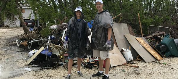 hurricane cleanup relief in florida keys