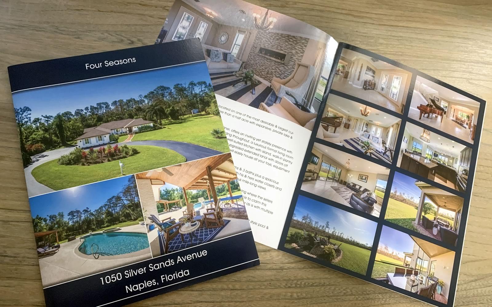 Florida Sunset Group home listing brochures